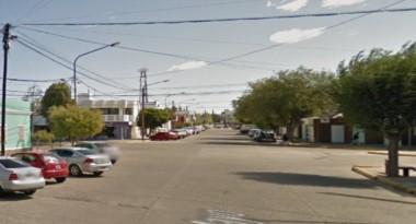 El hecho habría ocurrido en Gregorio Mayo y Sarmiento (imagen google maps)