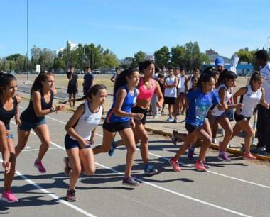 En las pistas de Trelew  y Rawson se realizaron las pruebas de atletismo.