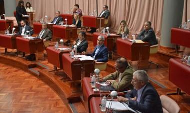 Sesión Especial. Durante la sesión especial siguieron las acusaciones e interpretaciones del reglamento de un lado y del otro.
