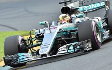 Lewis Hamilton se quedó con la pole en la clasificación del GP de Australia con un tiempo de 1:22.188.