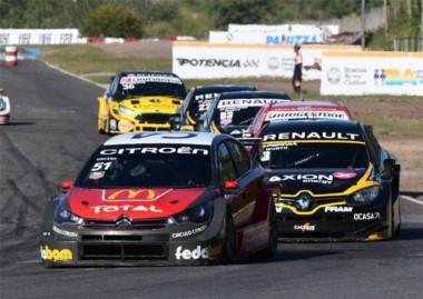 Con su Citroën, José Manuel Urcera sumó su primera victoria en la categoría.