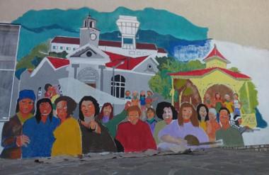 El mural será inaugurado este sábado en una jornada especial.