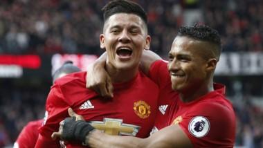 Marcos Rojo serà titular mañana en Manchester United.