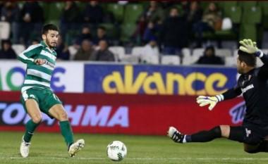 Lucas Villafañez volvió a anotar en Panathinaikos, uno de los cuatro grandes de Grecia.