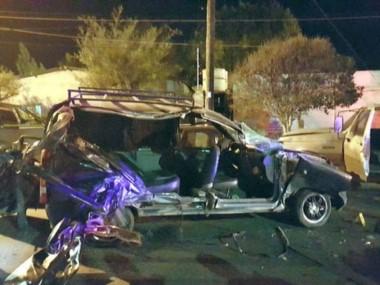 Terrible. la víctima iba de acompañante en el auto que le prestó su mamá. (ADN SUR))
