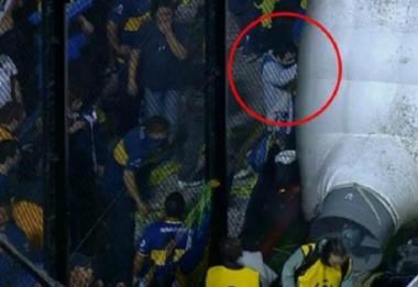 Uno de los acusados de arrojar el gas pimienta responsabilizó a Boca.