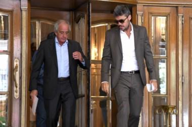 La historia sin fin: Tinelli, D'Onofrio y Gámez quieren suspender las elecciones.