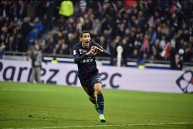 """El """"Fideo"""" anotó en la goleada del PSG ante el Mónaco en la final de la Copa de Liga de Francia."""
