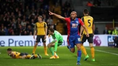 Sorpresiva goleada del Crystal Palace ante el Arsenal.