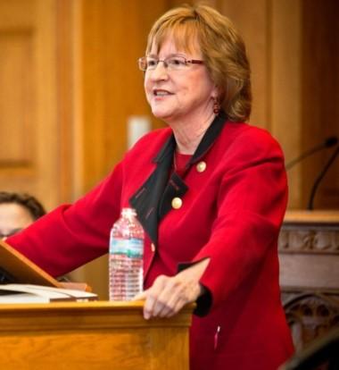 Especialista. La jurista norteamericana Valerie Hans, que hace años investiga el sistema de los jurados.