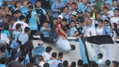 Emanuel Balbo perdió la vida a manos de otros hinchas de Belgrano.
