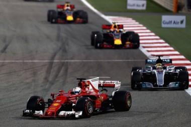 Ferrari volvió a festejar en el año con una gran carrera del alemán.