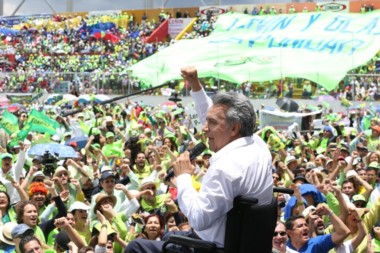 El sucesor de Rafael Correa tomará el cargo el 24 de mayo.
