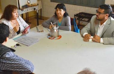 Encabezadas por Mondillo, autoridades de Provincia visitaron la obra.