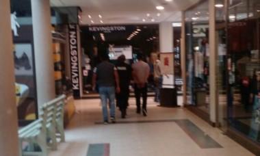 La pareja fue detenida en el shopping de Puerto Madryn