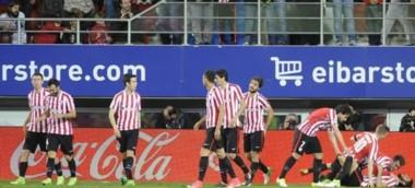 En tiempo de descuento, el Bilbao consiguió los tres puntos de visitante ante Eibar.