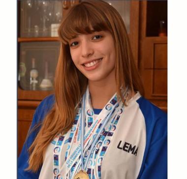 Julieta Lema sigue sumando logros en su carrera deportiva. Esta vez se trajo la medalla dorada de Colombia.
