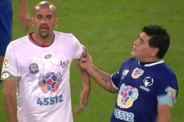 Verón no se quedó callado y contestó a las críticas de Maradona.
