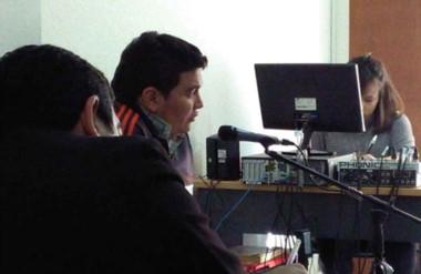 Tribunales. Es el secretario adjunto del gremio de la construcción en Comodoro Rivadavia.