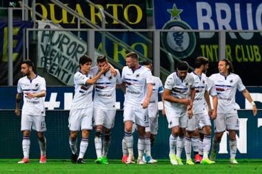 Sampdoria sorprendió a Inter y le ganó como visitante.