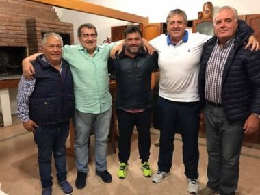 Pancaldo selló el acuerdo con los dirigentes paranenses.