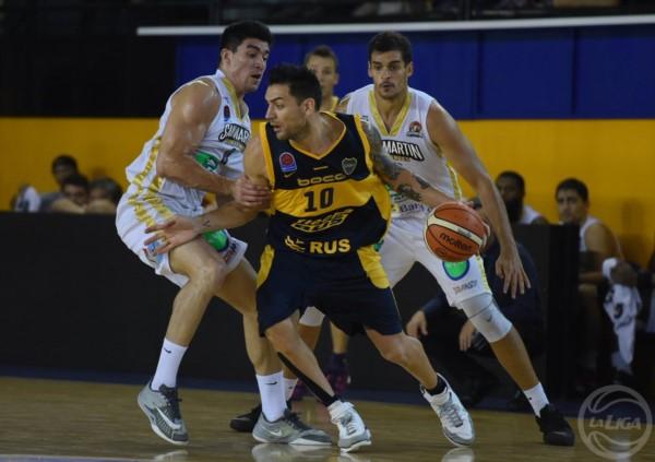 Boca dio la sorpresa y superó por 88-86 a San Martín de Corrientes, líder de la zona norte.
