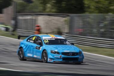 En la segunda competencia en el trazado italiano, Girolami fue 5to y Guerrieri 8vo.