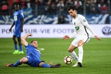 Pastore volvió al gol en triunfo del PSG por la Copa de Francia.