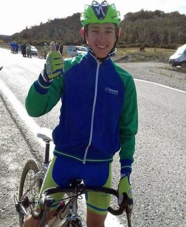 El ciclista Dylan Lloyd ganó la prueba de pelotón en ruta sobre 60 km.