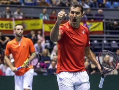 El dobles serbio liquidó a España y se cita con Francia en semis.