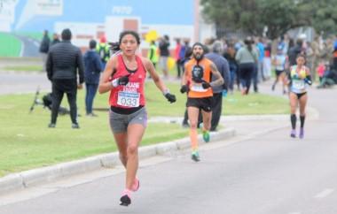 Neipán es la nueva campeona nacional de maratón.