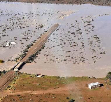 Desde la geología se explicó el fenómeno particular que experimentó el Río Chico.