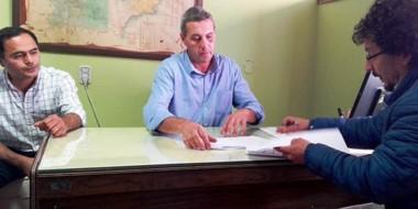Se firmó la renovación del convenio entre el área programática del Hospital y el sindicato del SOEME.