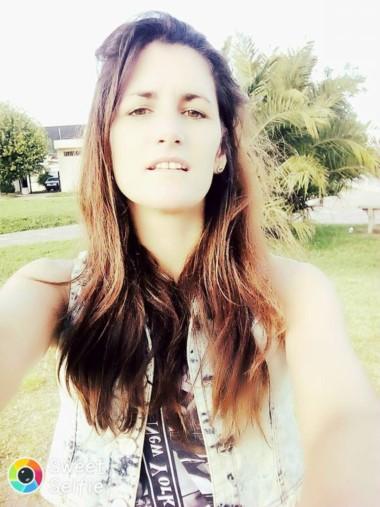 Erica Melisa Romero, madre de dos menores de edad, un nene de cuatro y una nena de 11. (Facebook).