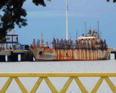 Postal. El 7 de abril del 2015 el potero fue capturado por la Prefectura Naval pescando ilegalmente.