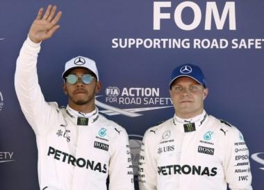 Séptima pole de Hamilton en Barcelona.