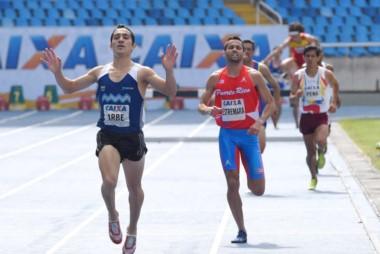 El chubutense Arbe volvió festejar un título argentino en los 1.500 mts.