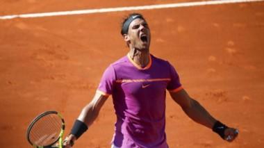 Rafa alcanza su 8va final y va por su quinta corona en el Madrid Open.