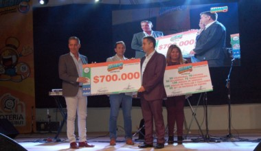 Lotería entregó aportes sociales