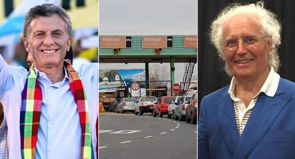 Los benetton ser n socios de macri en el negocio del peaje for Benetton quedara autopista panamericana acceso oeste