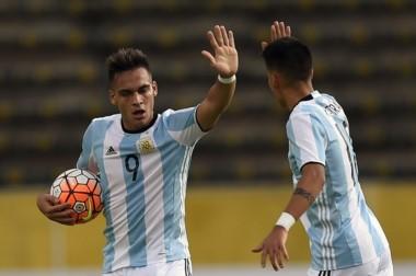 Lautaro Martínez, figura de Racing y del seleccionado, finalmente se recuperó y jugará el Mundial Sub 20.