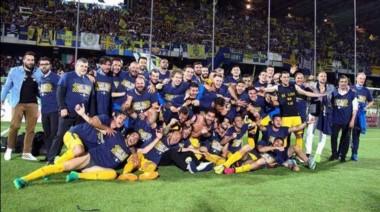 Hellas Verona vuelve a la primera división del fútbol italiano.
