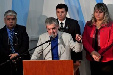 Anuncio. Das Neves convocó a todos los sectores y adelantó su negativa a la instalación en Sierra Grande.