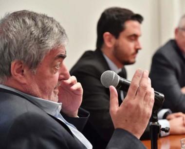 Definiciones. Das Neves recorrió varios temas en Casa de Gobierno.