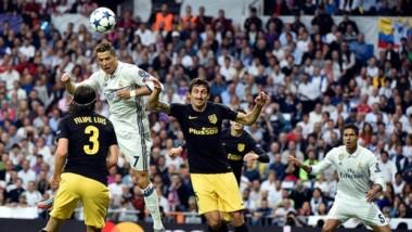 Casemiro ejecutó un tiro-centro y Ronaldo se elevó más que todos para el 1-0.