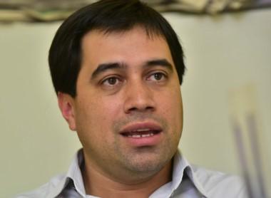 Ministro de Gobierno Pablo Durán