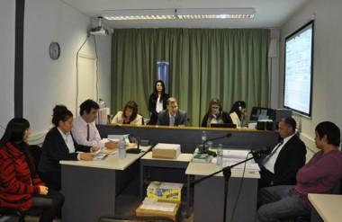 Los jueces Mirta Moreno, Ivana González y Fabio Monti darán a conocer, el próximo lunes, el veredicto.