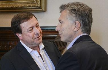 Buenos amigos. Macri y Weretilneck, gobernador de Río Negro. Fueron juntos a China.