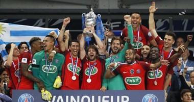 PSG se consagró campeón de la Copa por tercer año consecutivo.