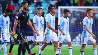 La Selección Argentina Sub 20 quedó eliminada en primera ronda.